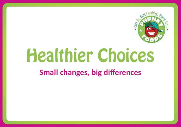 Healthier Choices Flashcards